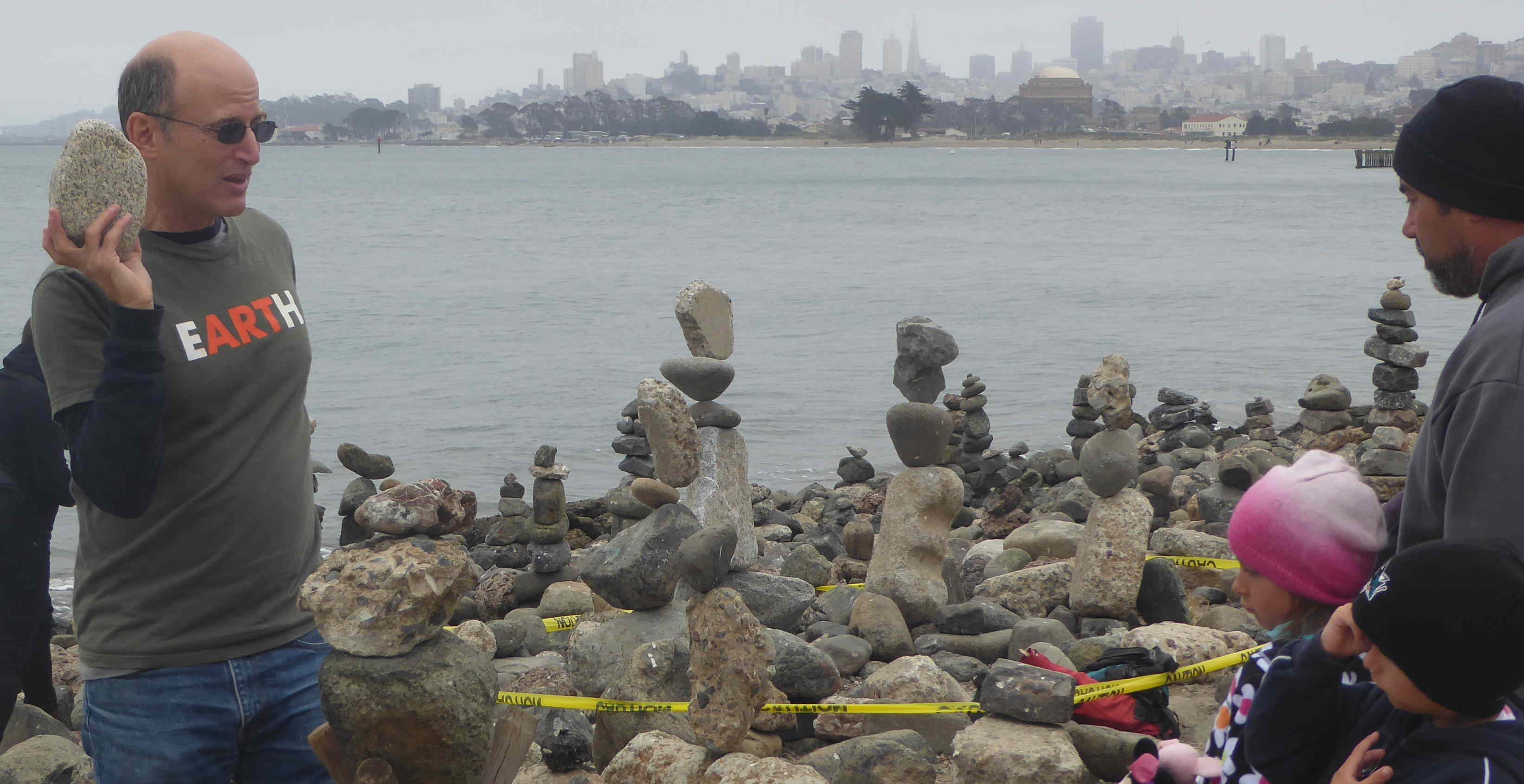 Balancing Rocks Celebration at Crissy Field