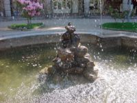 Geres spring fountain