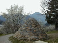 GOLDSWORTHY CAIRN - FRANCE
