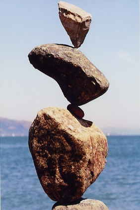 Bill Dan balanced rocks